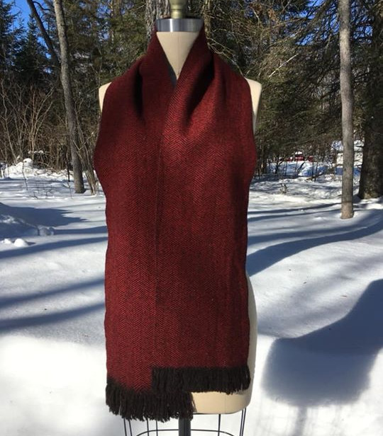 One Solid Color, Black Sheep's Wool, Red Maple