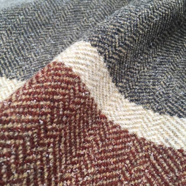 This woven pattern is called Diamond Point and is a custom Bare Cloth design.