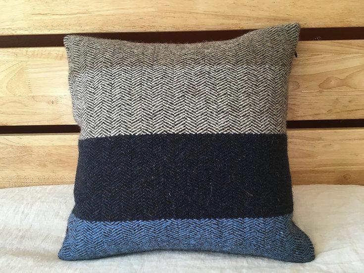 B.C. Throw Pillow: Doe Blue