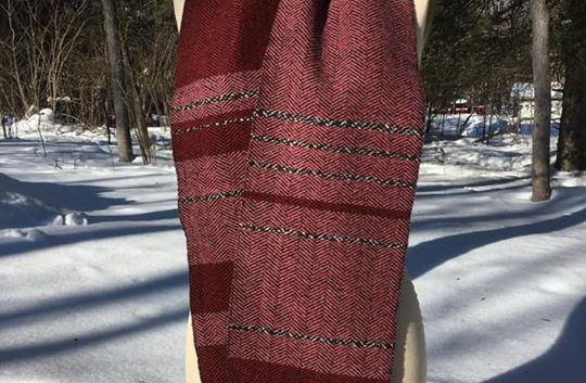 Random, Black Sheep's Wool, Pink, Red Maple, (Other color not available)