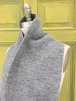 Hattersley Scarf: Warm Grey