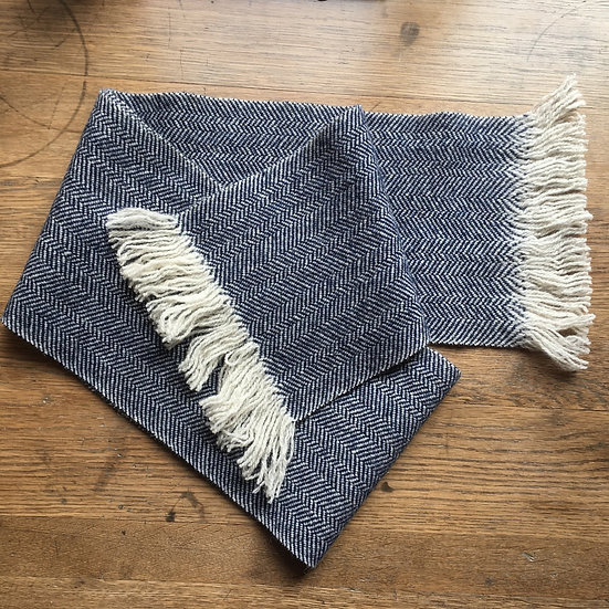 Hattersley Scarf: Pale Blue Eyes