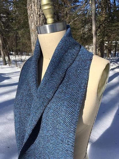 Hattersley Scarf: Blueberry Patch
