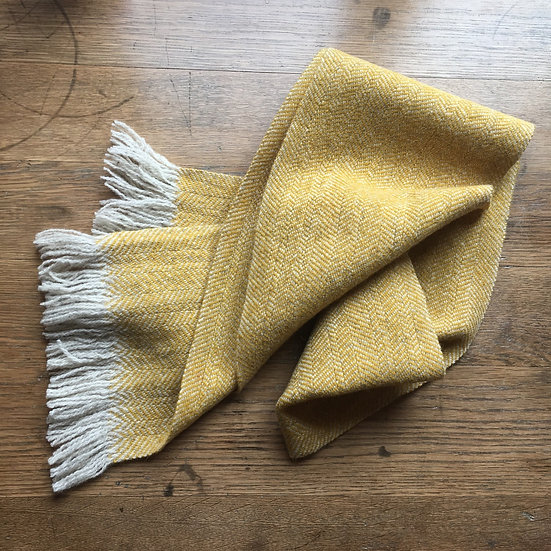 Hattersley Scarf: Lemon Sunshine
