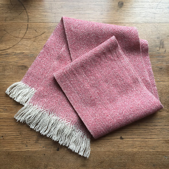 Hattersley Scarf: Pink