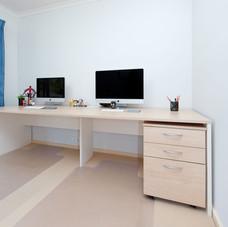 Laminate Desk and Pedestal
