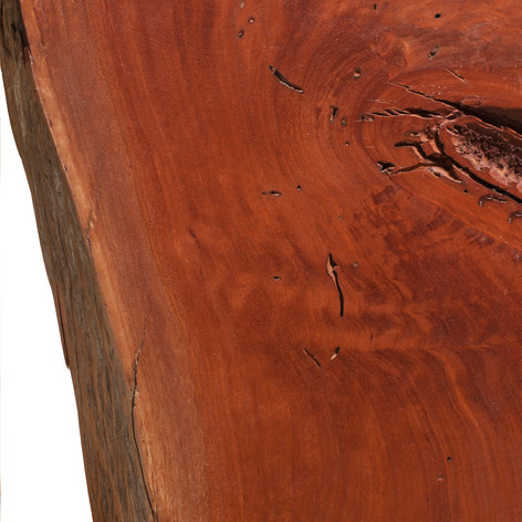 Redgum with Live Edge