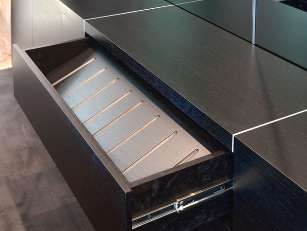 Angled Wine Drawer