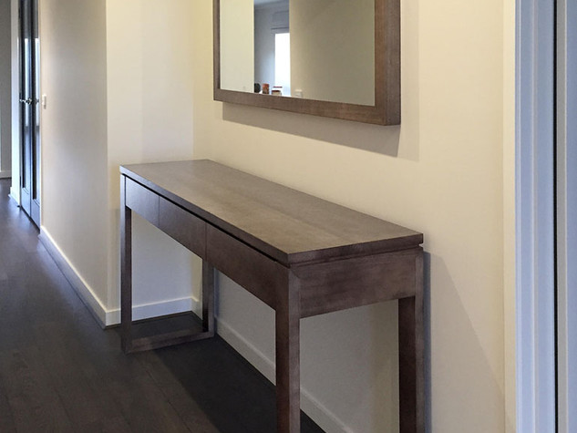 Victorian Ash Custom Mirror & Buffet