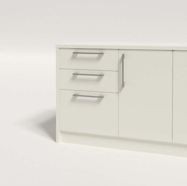 Add 2 Pencil + 1 File Drawers LHS
