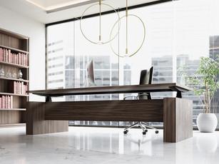 Executive Electronic Height Adjustable Desk