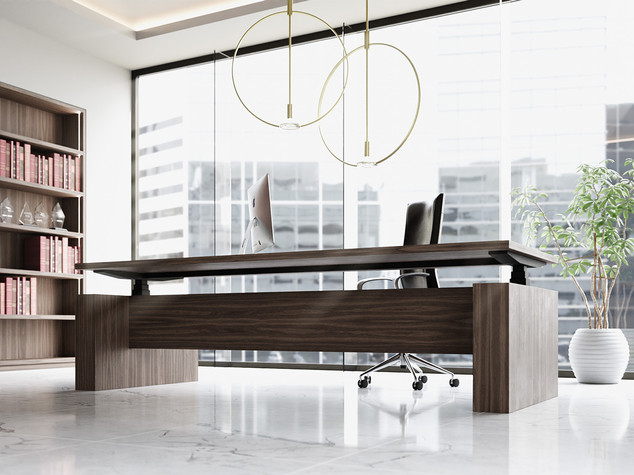Executive Electronic Height Adjustable Desk