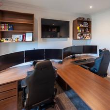 Laminate Twin Desk