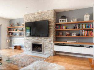 Fitted Entertainment Unit and Shelving