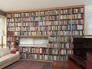 Oak Timber Bookcase