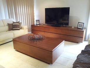 Matching Entertainment Unit & Coffee Table