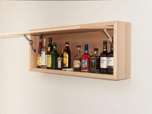 Wall Mounted Box Shelf