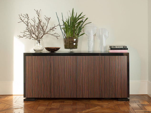 Zebrano Timber Buffet