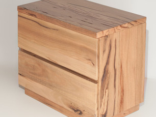 Marri Timber Bedside Table