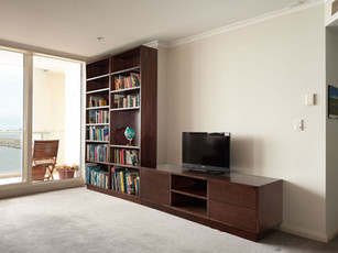 Bookcase and Entertainment Unit