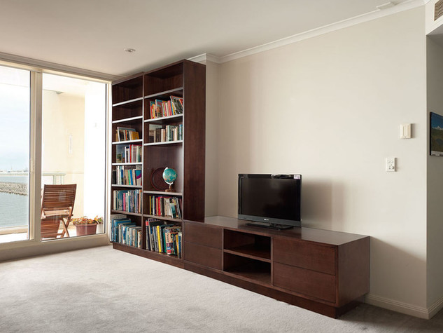 Bookcase and Entertainment Unit