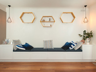 Built in Bench Seating With Storage