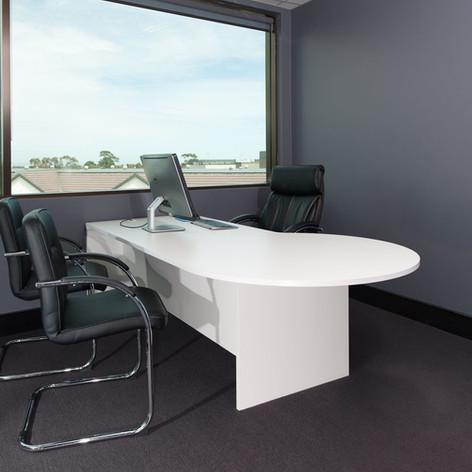 Executive White Desk
