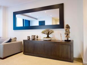 Victorian Ash Custom Mirror & Buffet