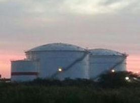 Fire Water Storage Tank, Geodesic Dome, Above Ground Diesel Storage tank, IFR