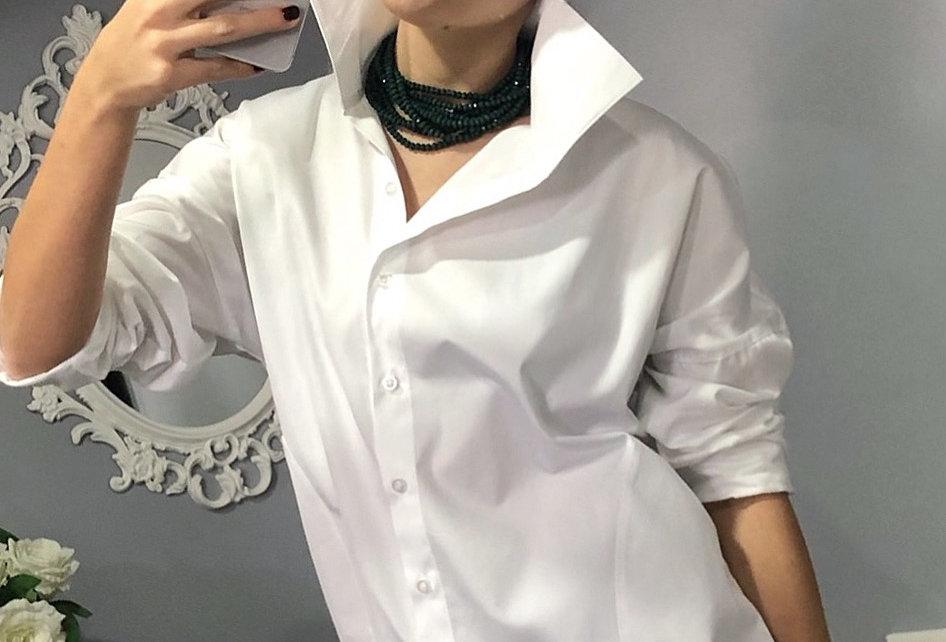 Yüksek Yakalı Gömlek