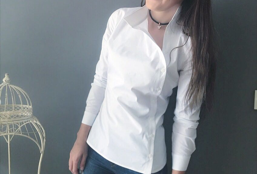 Yandan Patlı Gömlek