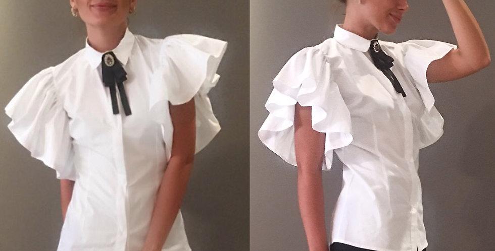 Kol detaylı gömlek