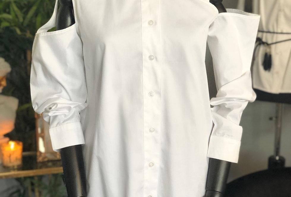 Şerit Detaylı Gömlek
