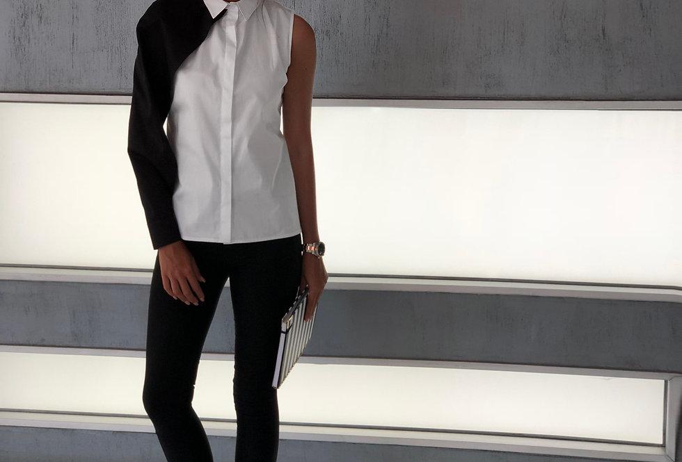 Siyah Kollu Gömlek