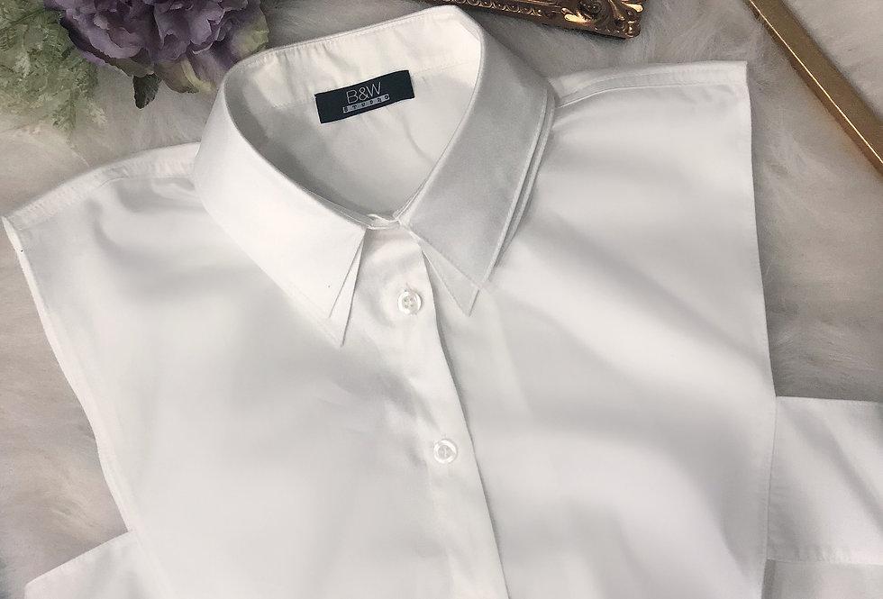 Duble Yaka Yarım Gömlek