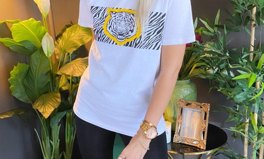 Kaplan Baskılı Tshirt