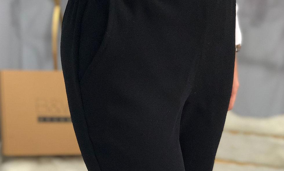 Krep Havuç Pantalon