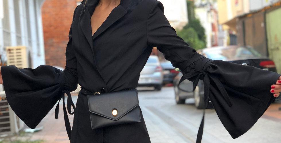 İspanyol Kol  Gabardin Ceket
