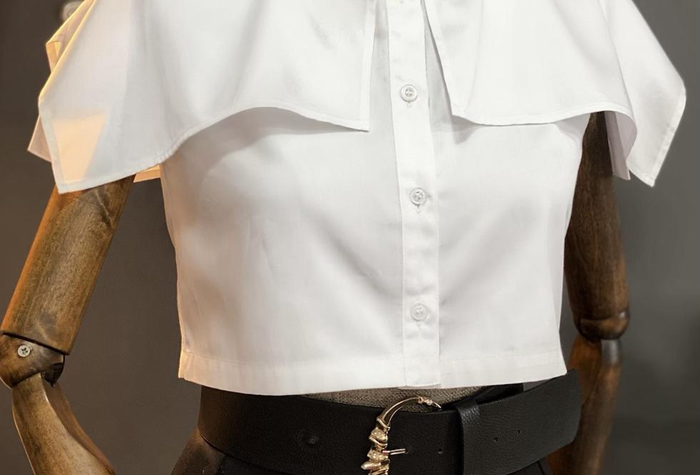 Pelerinli Kısa Gömlek