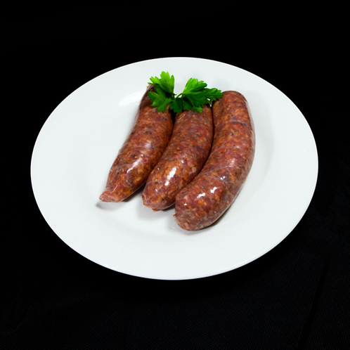 Beef Sundried Tomato and Fresh Basil Sausages 500g (approx. 6pcs)