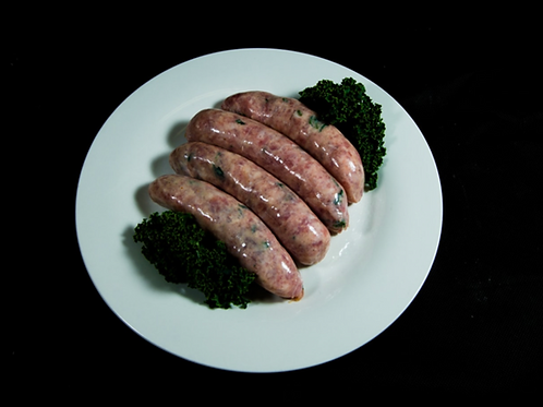 Free Range Pork, Apple and Fresh Coriander Sausages 500g (approx. 6pcs)