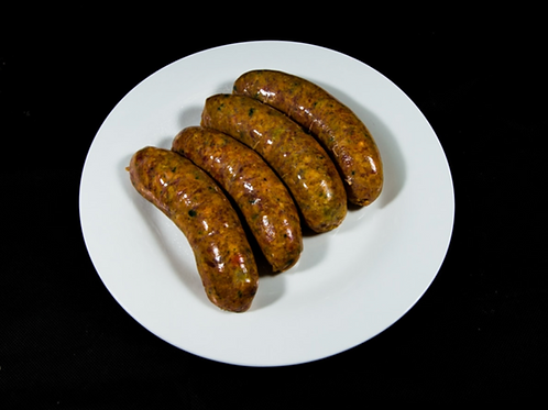 Lamb, Mint, Fresh Rosemary Sausages 500g (approx. 6pcs)
