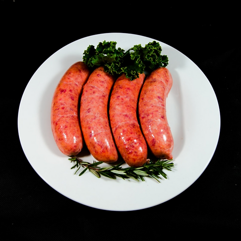Organic Thick Beef Sausages 500g (approx. 6pcs)