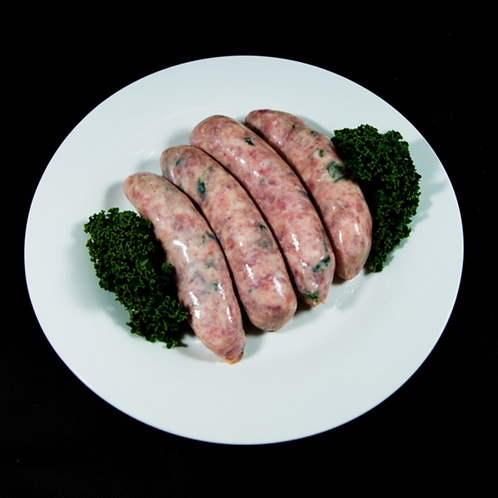 Free Range Pork, Pear and Cider Sausages 500g (approx. 6pcs)