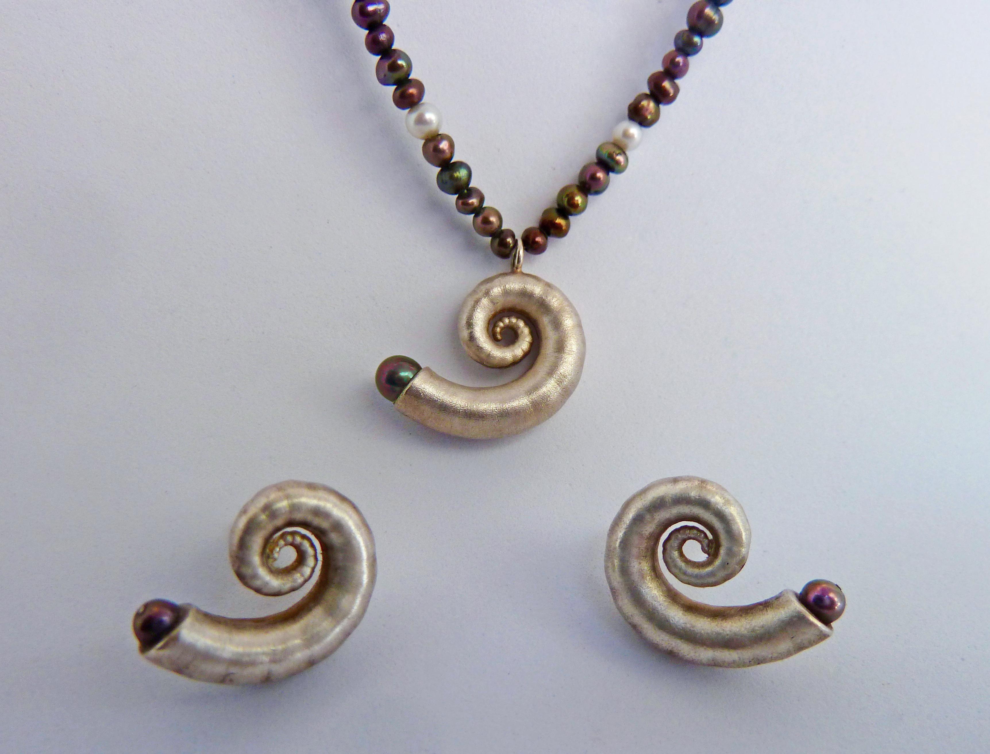 Schnecken mit Perlen