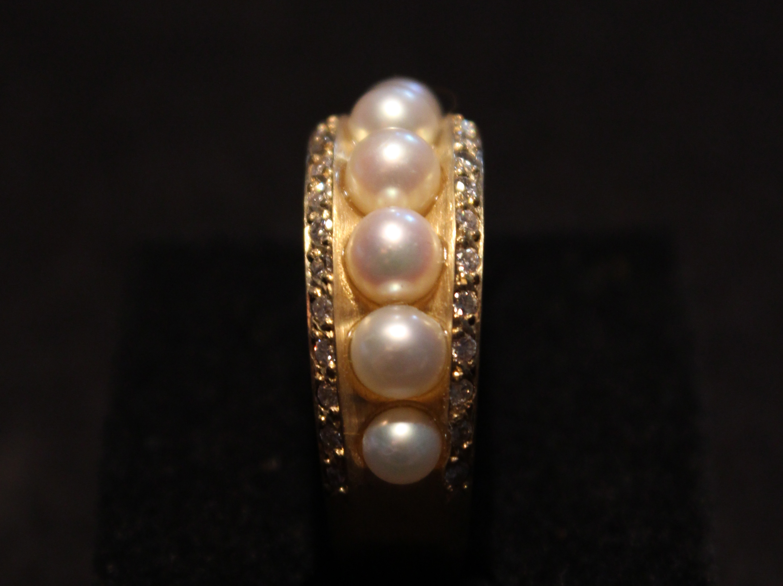 Brillanten, Perlen