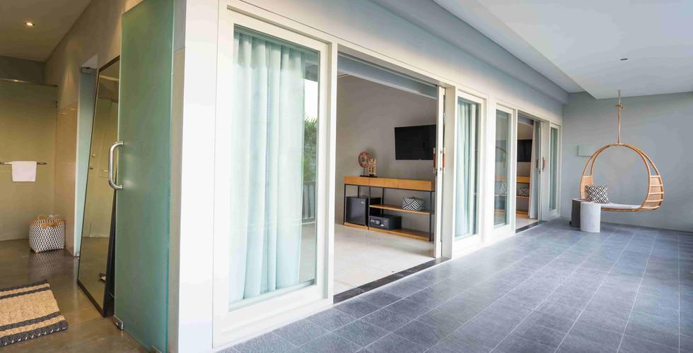 Origin Seminyak 4 Bedroom Walkway