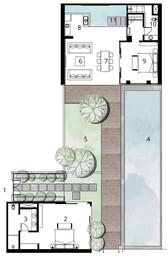 4 Bedroom Pool Villa Ground Floor
