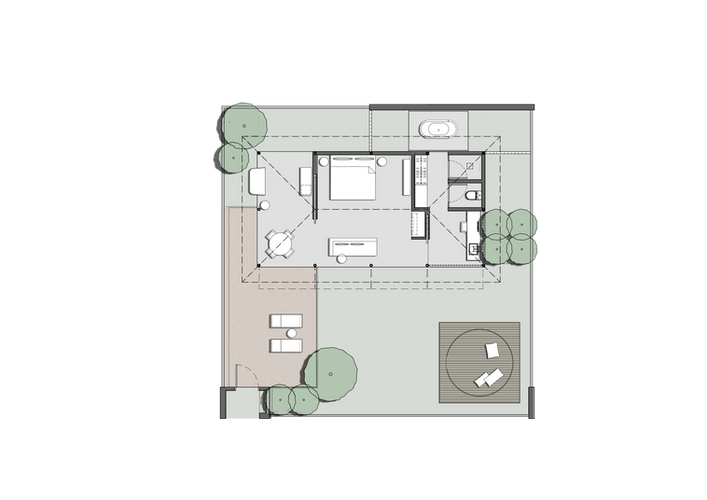 1 BEDROOM VILLA WITH DOME.png