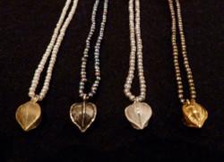 Perlenketten mit Lindensamen